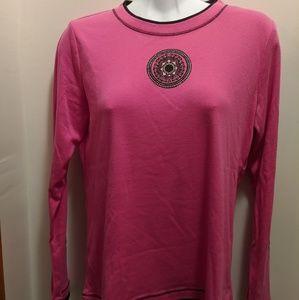 Made for Life Petite Medium pink long sleevedshirt